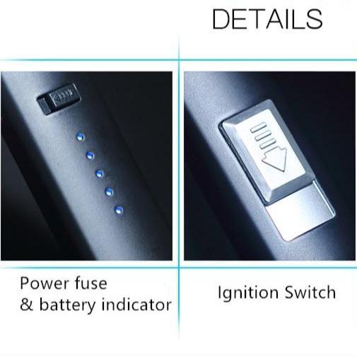 Briquet Long à Arc Rechargeable par USB
