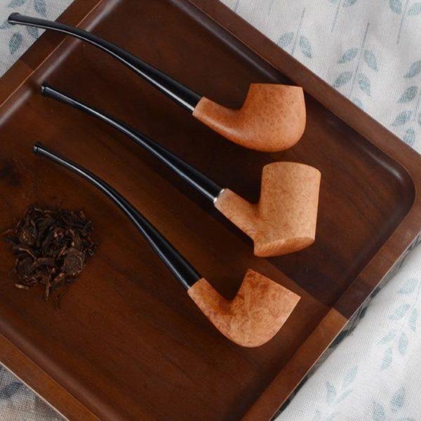 Briar Tobacco Pipe en Bols non Finis