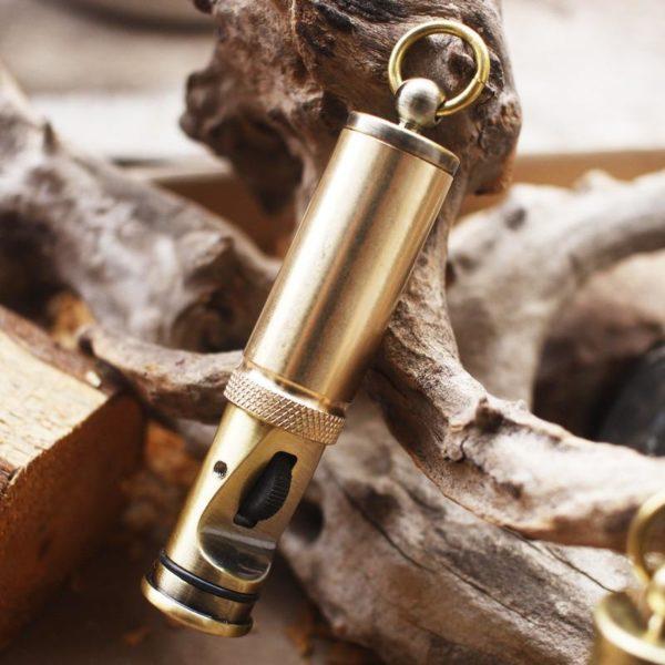 Briquet Cylindrique Antique Imperméable