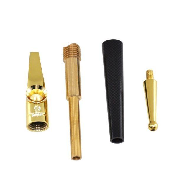 Pipe en Métal et Laiton Design