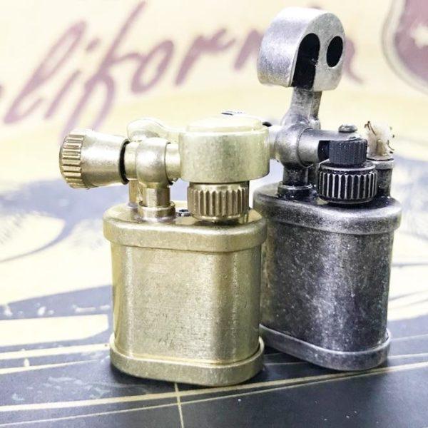 Mini Briquet vintage Metal et Cuivre