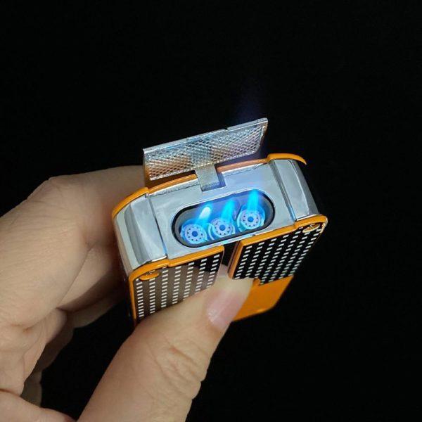 Briquet Torche COHIBA avec Coupe-Cigare