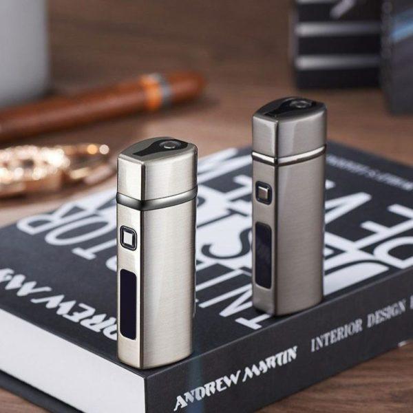 Briquet à Cigare Électrique 3 Jets USB LED