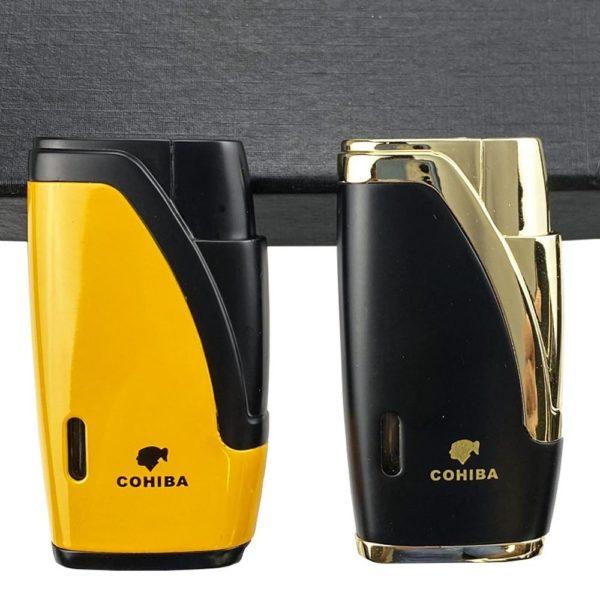 Briquet Cohiba 2 Jets et Coupe-Cigare