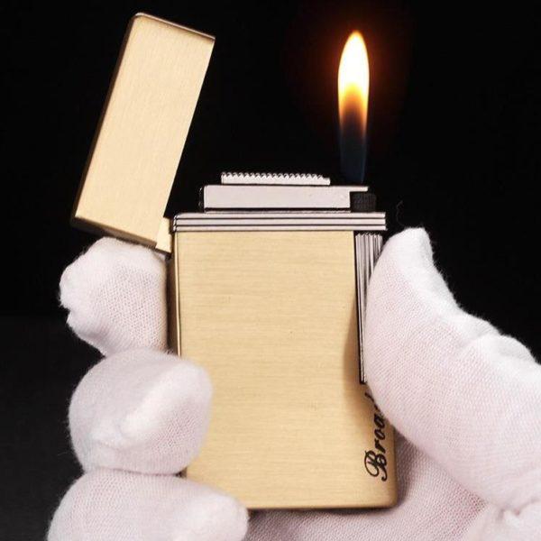 Briquet à Gaz Flamme Libre et son Lumineux