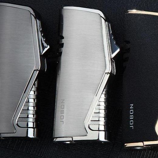 Briquet à Triple Jet Torche  avec Coupe-Cigare