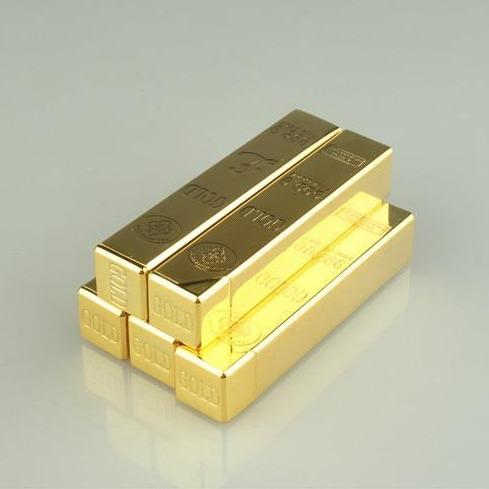 Briquet à Gaz Lingot d'Or