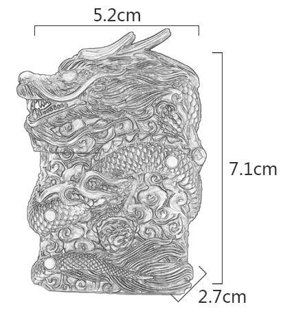 Briquet Essence Griffe de Dragon