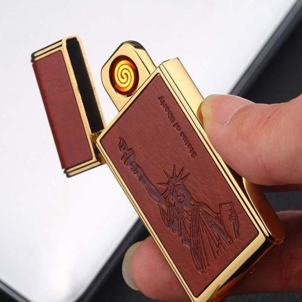 Briquet USB au Tungstène Allumage silencieux
