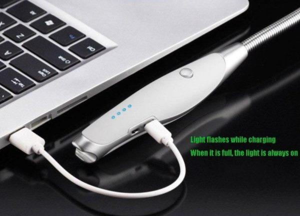 Briquet USB Rotatif avec Tire-Bouchon