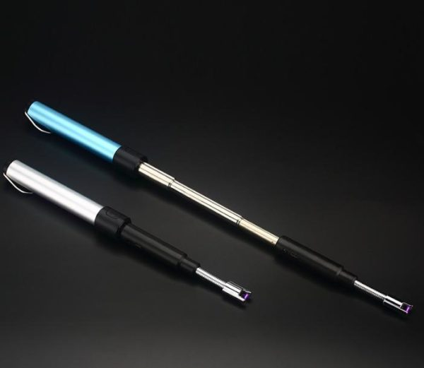 Briquet USB de Cuisine Sans Flamme Télescopique