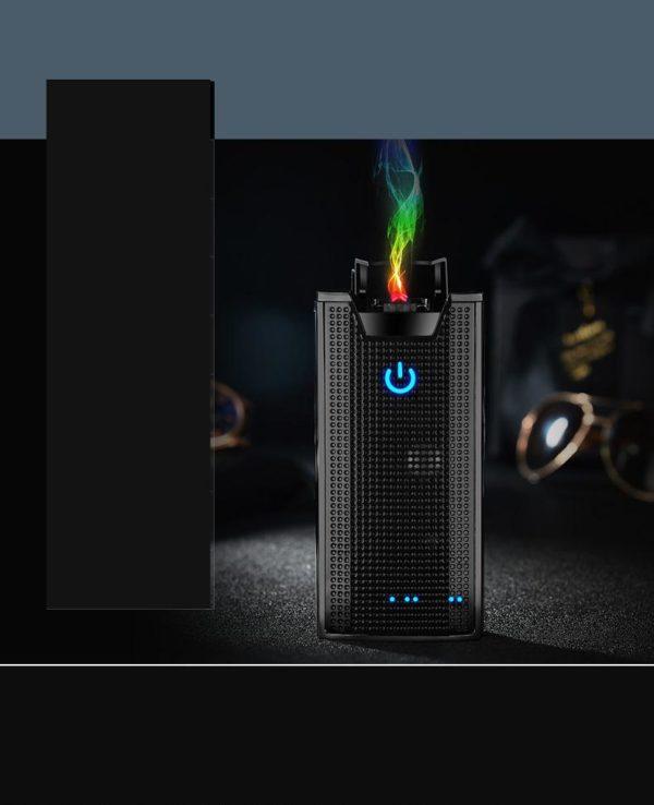 Briquet USB avec Haut Parleur et Chargeur Portable