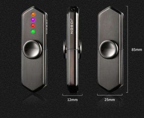 Briquet USB Hand Spinner LED