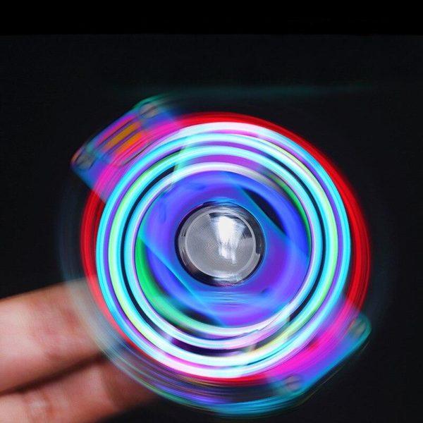 Briquet Électrique Hand Spinner