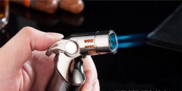 Briquet Tempête Pistolet Pulvérisateur 3 Torches