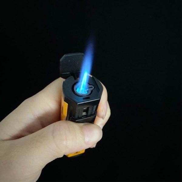 Briquet Flamme Jet et Coupe Cigare