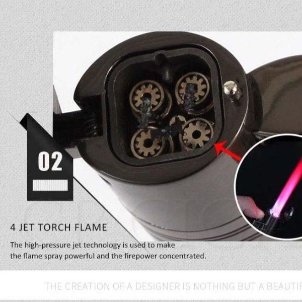 Briquet COHIBA Pour Cigare 4 Jets   Briquet Tek