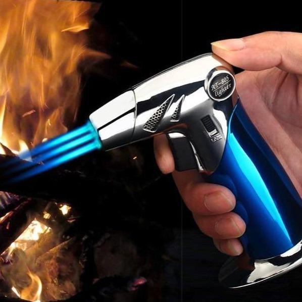 Briquet Tempête Pistolet Flamme Torche 1 ou 3 Jets