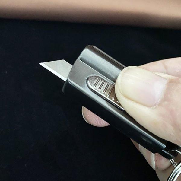 Briquet Allumette à Essence avec Couteau