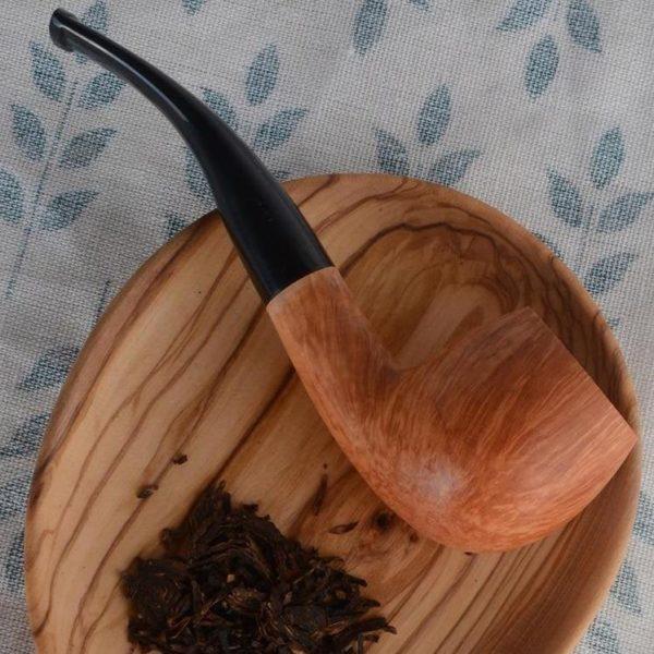 Briar Tobacco Pipes Inachevée en Bols
