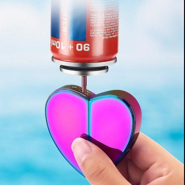 Briquet Love Recharge à Gaz et USB