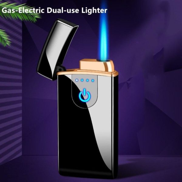 Briquet Tempête Double Usage Gaz-Électrique