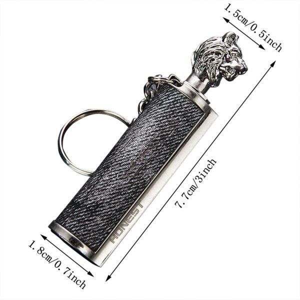 Briquet Allumette Permanente avec Porte-Clé