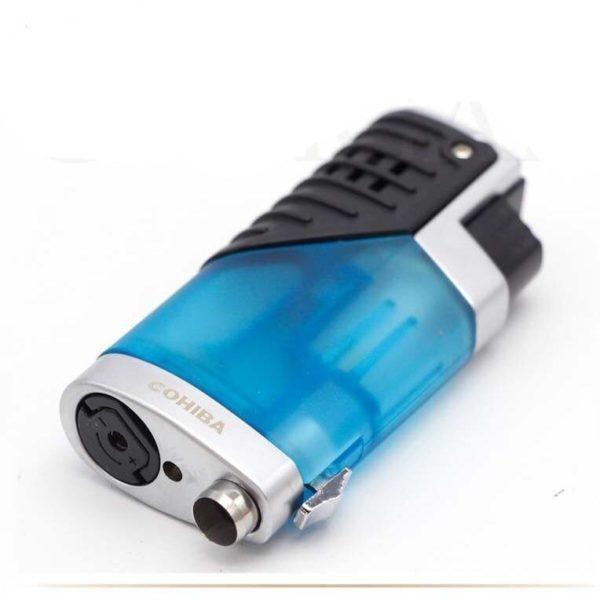 Briquet Cigare COHIBA en Plastique Flamme 3 Jets