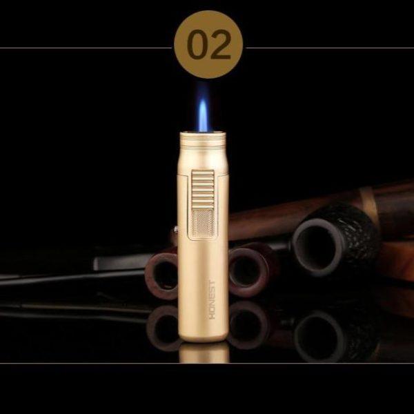 Briquet pour Cigare Turbo Torche Cylindrique