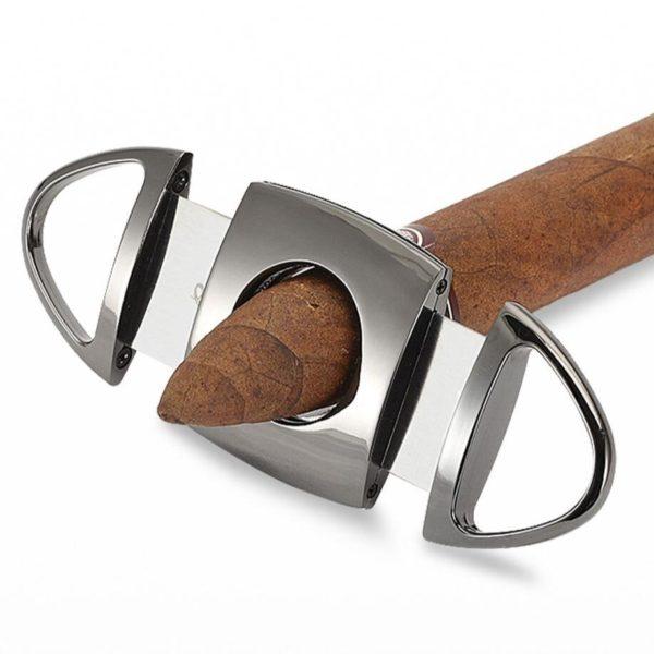 Coffret Briquet Cigare GALINER Flamme Jet et Coupe-Cigare Tranchant