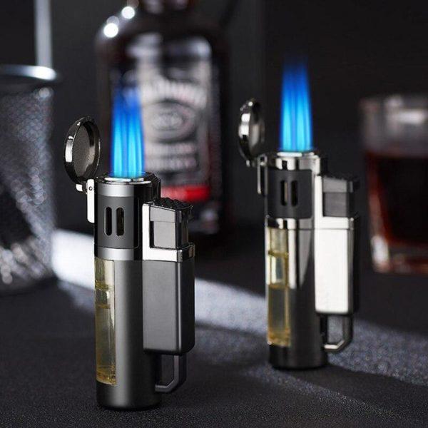 Briquets pour Cigare Turbo 4 Jets