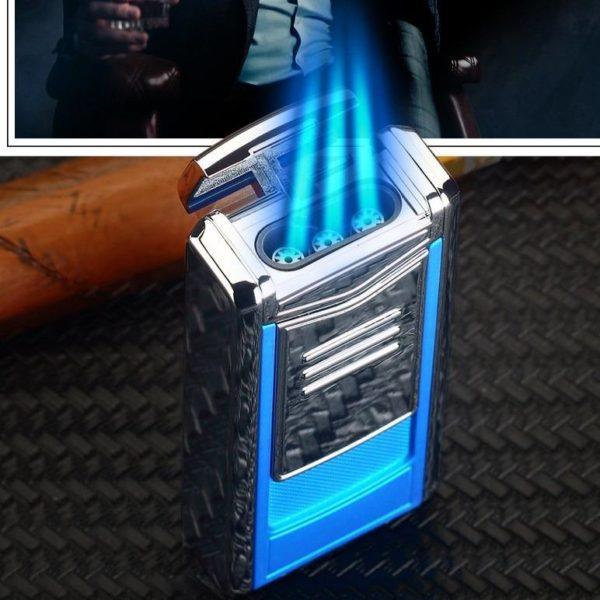 Nouveau Briquet à Cigare Cohiba Flamme 3 Jets