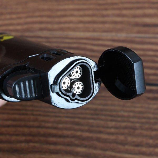 Mini Briquet à Cigare COHIBA Flamme Torche