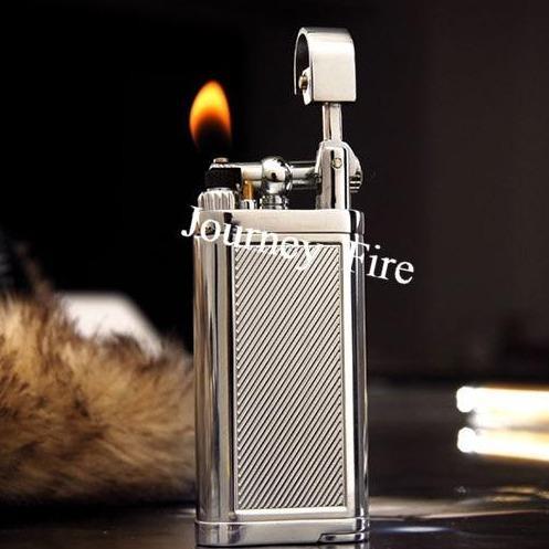 Briquet à Pipe Rétro Flamme Oblique