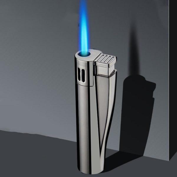 Briquet Torche Portatif en Métal  Flamme Bleue