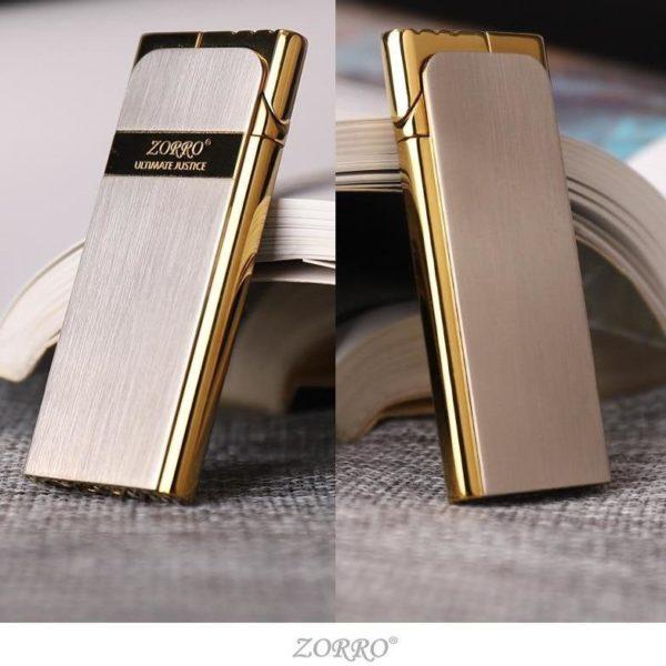 Briquet Zorro Métallique Ultra-Mince