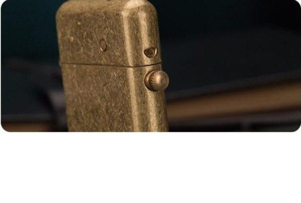 Briquet Mécanique ZORRO en Laiton