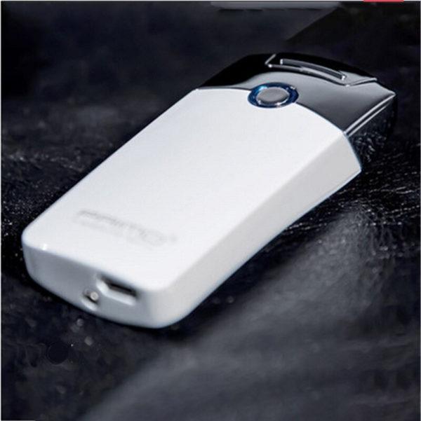 Briquet Électrique USB Premium Couleur Blanc