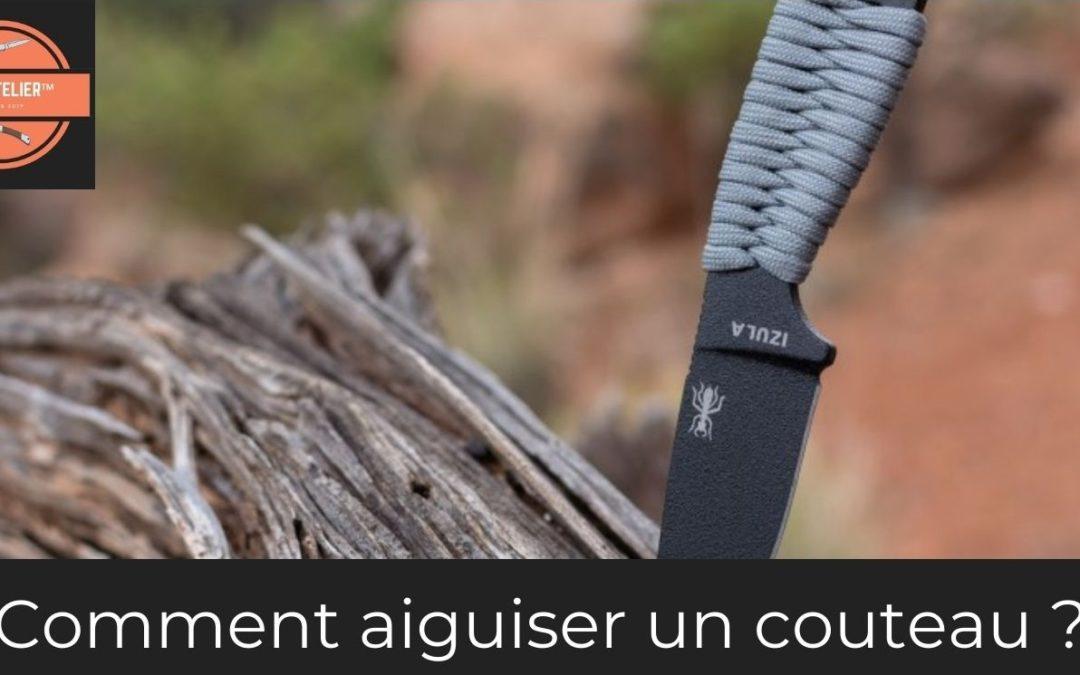 Comment aiguiser un couteau (1)