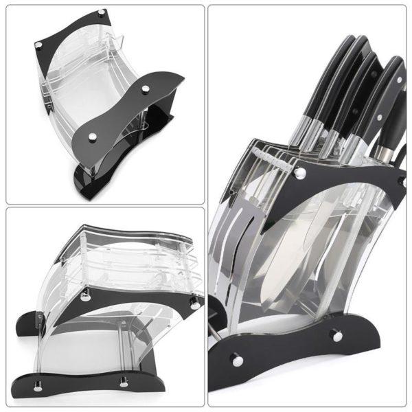 Porte couteau transparent