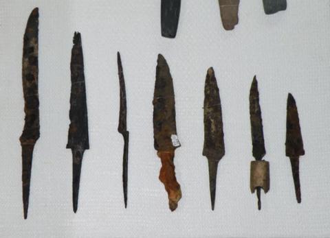 couteau de l'âge de fer