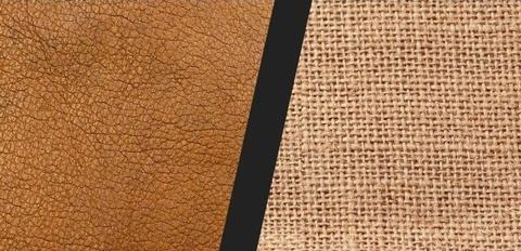 cuir ou tissu