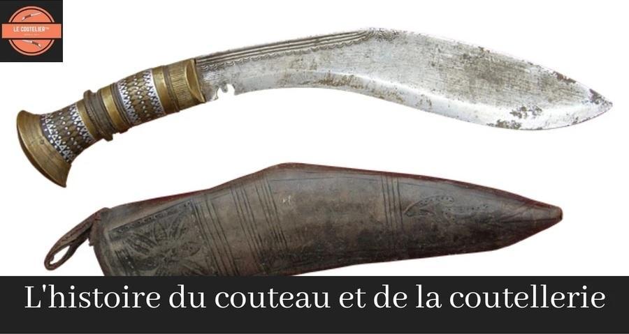 histoire du couteau et de la coutellerie
