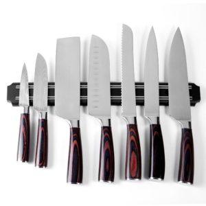 porte couteau mural aimanté