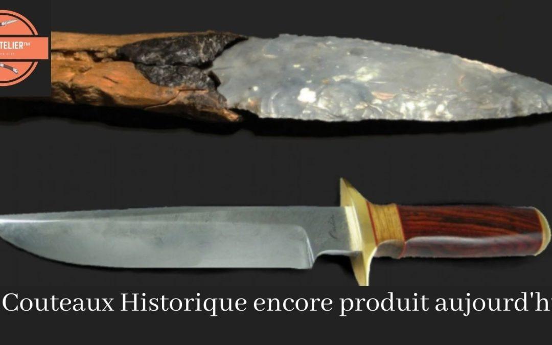 15 couteaux historique encore produit aujourd'hui