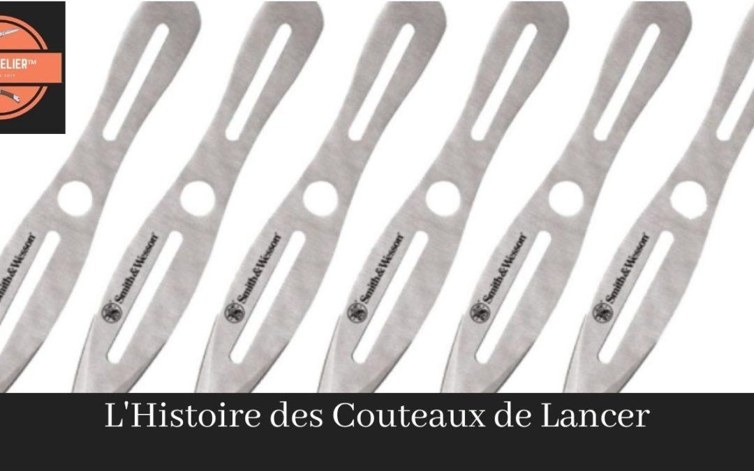 L'Histoire des couteaux de lancer