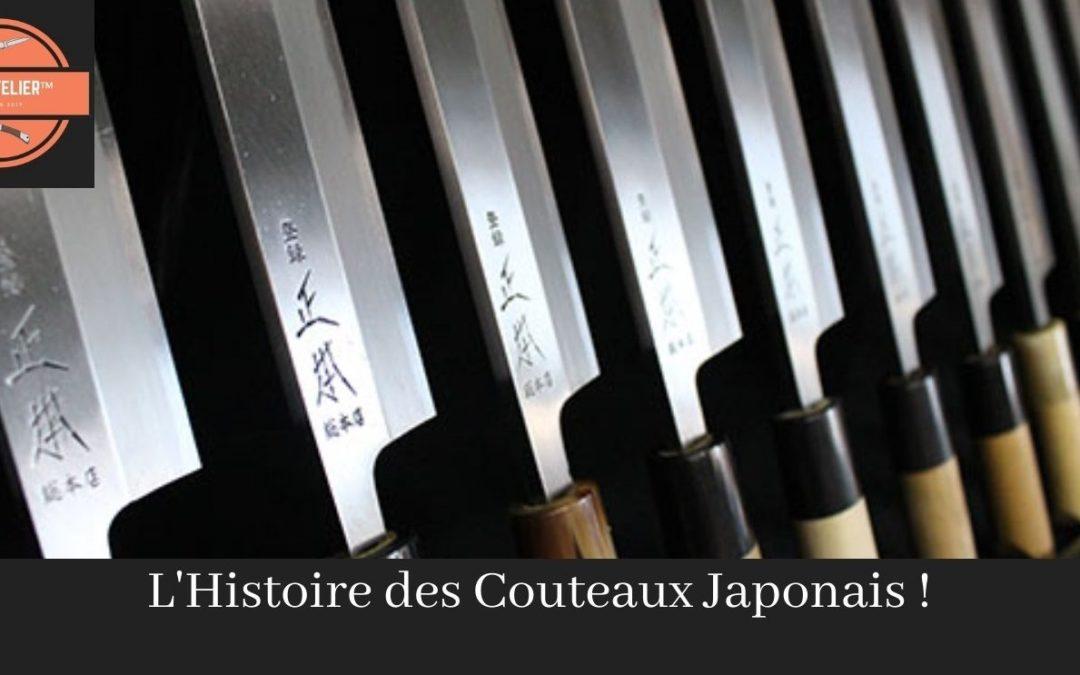 L'Histoire des couteaux japonais