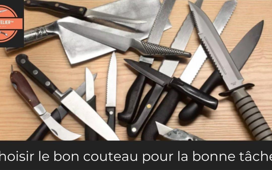 Bien choisir son couteau
