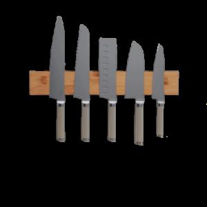 Porte Couteau Mural Bois