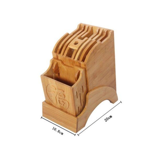 bloc porte-couteau grande capacité dimen,sion